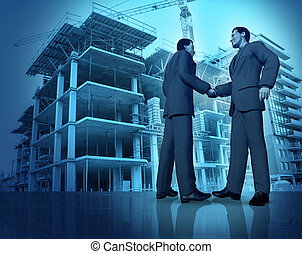 construção, acordo