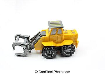 construção, caminhão brinquedo