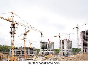 construção, casas