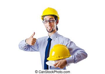 construção, construtor, conceito, segurança