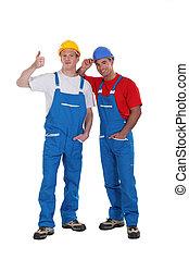 construção, duo