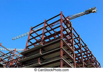 construção edifício
