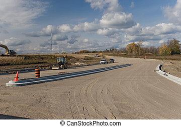 construção, estrada, 23