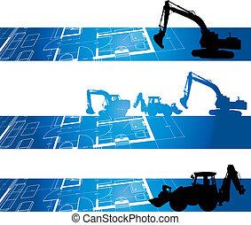 construção, fundo