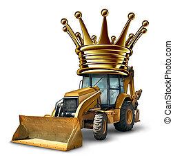 construção, líder