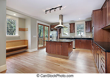 construção lar, cozinha, novo