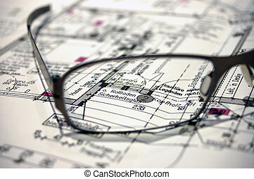 construção, plano