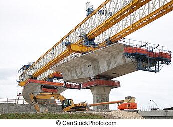construção, rodovia
