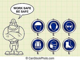 construção, saúde segurança