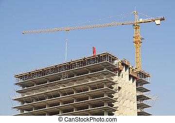 construção, vista