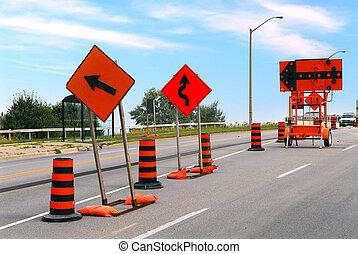 construcción, camino