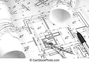 construcción, dibujos