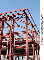 construcción edificio, framework.