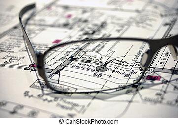 construcción, plan