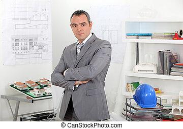 construcción, planificador