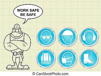 construcción, salud y seguridad