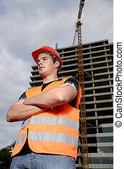 construcción, supervisor