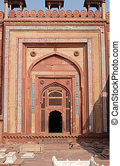 constructed, mughal, fatehpur, sikri, pradesh, india, ciudad...