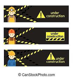 constructeur, artisan, ouvrier, signe