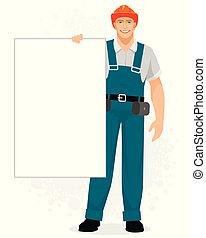 constructeur, bannière