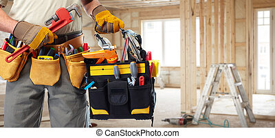 constructeur, construction, bricoleur, tools.