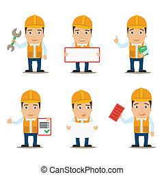 constructeur, ensemble, caractères