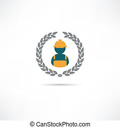constructeur, icône