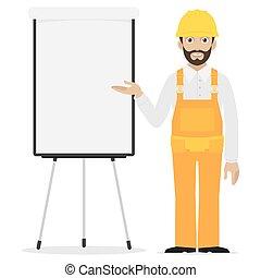 constructeur, points, graphique chiquenaude
