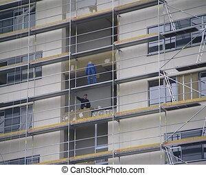 constructeur, rénovation