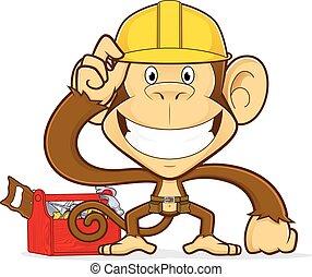 constructeur, singe