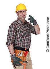 constructeur, vous, pointage