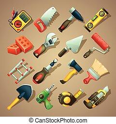 constructeurs, icônes, 2