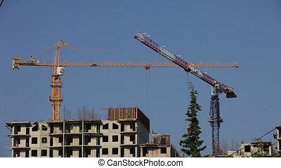Constructing a building