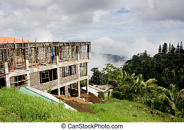 Constructing a house