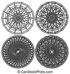 constructio..., 抽象的, 円