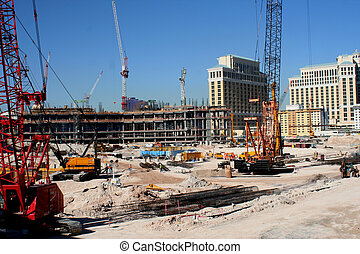 a view of a construction site