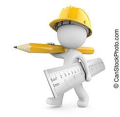 construction, again., temps