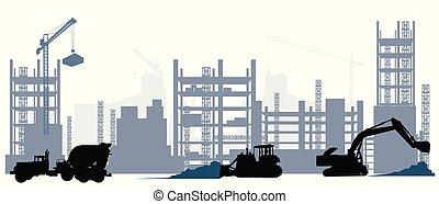 Construction and machine equipment