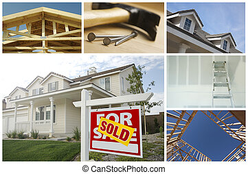Construction and Real Estate Collage