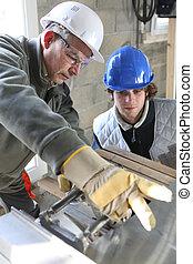 construction, apprenti
