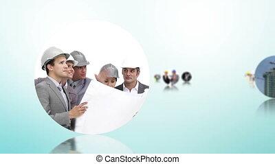 construction, architecture, monta