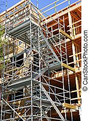 construction bâtiments, moderne