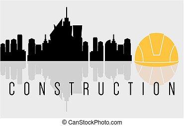 Construction banner