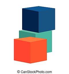 construction blocks icon