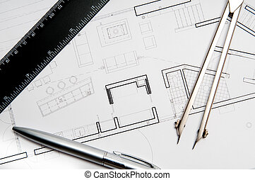 Construction blueprint - architecture blueprint & tools