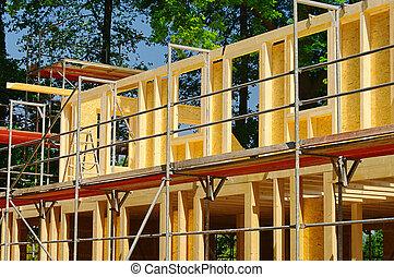 construction, bois