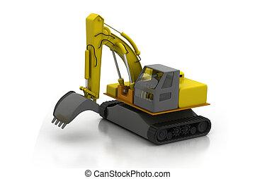 Construction building machine concept