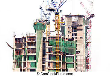 Construction building.