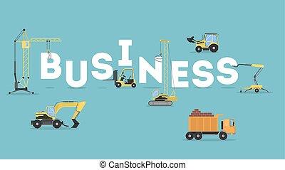 Construction business concept.