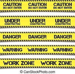 Construction Caution Tapes